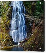 An Angel In The Falls Acrylic Print by Jeff Swan