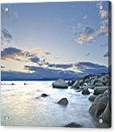 An Evening At Tahoe Acrylic Print