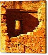 Anasazi Ruins Acrylic Print