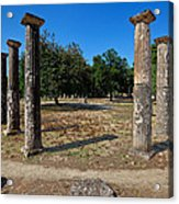 Ancient Olympia Acrylic Print