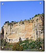 Andalusia Landscape In Spain Acrylic Print