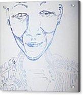 Angel Madiba - Nelson Mandela Acrylic Print
