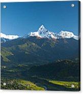 Annapurna Peak - Nepal Acrylic Print