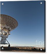 Antenna At Very Large Array Acrylic Print