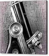 Antique Microscope Acrylic Print