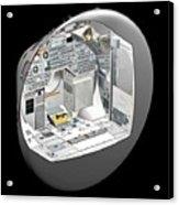 Apollo Command Module Acrylic Print