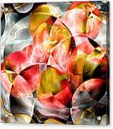 Apple Bowl Acrylic Print
