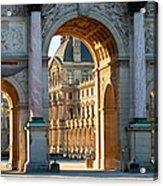Arc De Triomphe Du Carrousel Acrylic Print