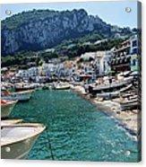 Arrival To Capri  Acrylic Print