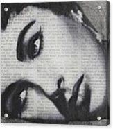 Art In The News 15-elizabeth Acrylic Print