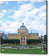Art Pavilion Acrylic Print by Borislav Marinic