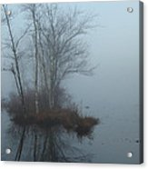 As The Fog Lifts Acrylic Print