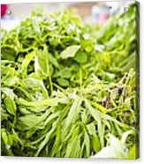 Asian Market Vegetable Acrylic Print