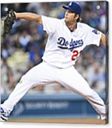 Atlanta Braves V Los Angeles Dodgers 2 Acrylic Print