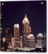Atlanta From Above Acrylic Print