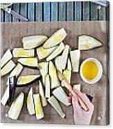 Aubergine  Acrylic Print