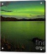 Aurora Borealis Northern Lights Display Acrylic Print