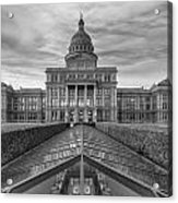 Austin Images - The Texas State Capitol At Sunrise Looking South Acrylic Print