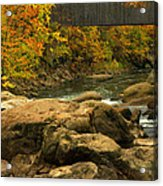 Autumn At Bulls Bridge Acrylic Print