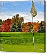 Autumn Golf Acrylic Print