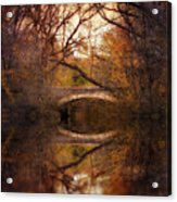 Autumn's End Acrylic Print