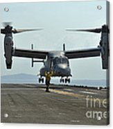 Aviation Boatswains Mate Signals An Acrylic Print