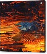 Awe Inspiring Sunset Acrylic Print