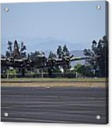 B-17 Flying Fortress Acrylic Print