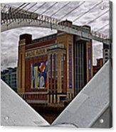 Baltic And Gateshead Millennium Bridge Acrylic Print