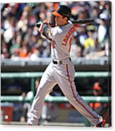 Baltimore Orioles V. Detroit Tigers Acrylic Print
