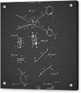 Barber Shears Patent 1927 Acrylic Print