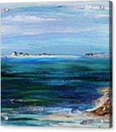 Barrier Islands Acrylic Print