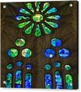 Basilica Sagrada Familia Acrylic Print