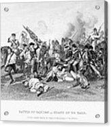 Battle Of Camden, 1780 Acrylic Print