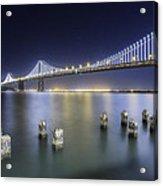 Bay Bridge In San Francisco Acrylic Print