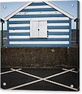 Beach Hut 41 Acrylic Print