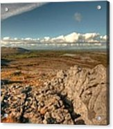 Beautiful Burren Landscape Acrylic Print