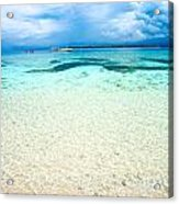 Beautiful Sea At Gili Meno - Indonesia Acrylic Print
