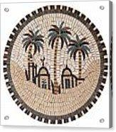 Bedouin Hut Acrylic Print