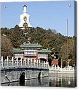 Beihai Park In Beijing China Acrylic Print