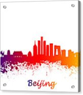 Beijing China Skyline  Acrylic Print