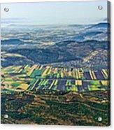 Beit Netofa Valley, Galilee Acrylic Print