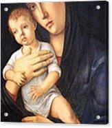 Bellini's Madonna And Child Acrylic Print