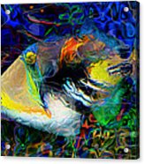 Below The Surface 4 Acrylic Print