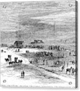Bender Murders, 1873 Acrylic Print
