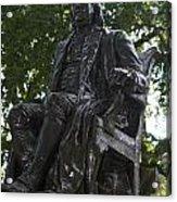 Benjamin Franklin Statue University Of Pennsylvania Acrylic Print