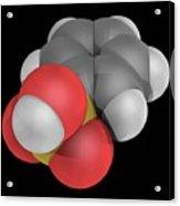 Benzenesulfonic Acid Molecule Acrylic Print