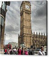 Big Ben London Acrylic Print by Donald Davis