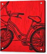 Bike 5 Acrylic Print by William Cauthern