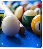 Billiard Balls Acrylic Print